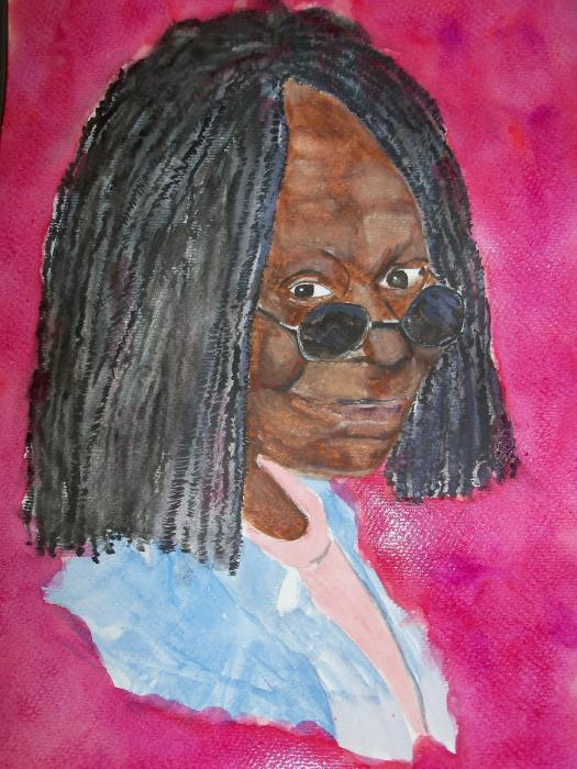 Whoopi Goldberg by dabeechey